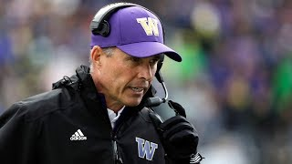 WATCH: UW football coach Chris Petersen on stepping down from head role