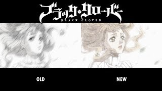 Black clover ending 7 comparison (versions 1-2) | with lyrics