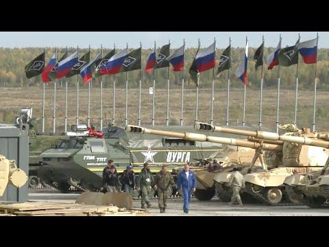 Russia Arms Expo 2015 Kicks off in Nizhny Tagil
