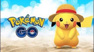 Noticias de Pokémon Go - Pikachu con sombrero de paja