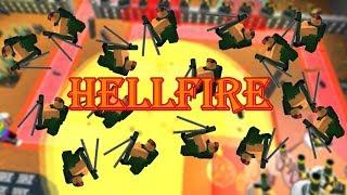 Hellfire: Mortar Only Fun (Borderlands 4v4) | Tower Battles [ROBLOX]