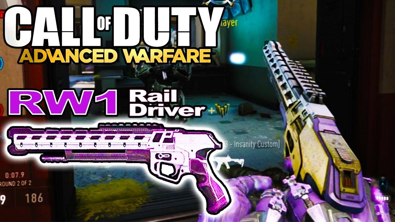 Advanced Warfare Rw1 Rail Driver Montage