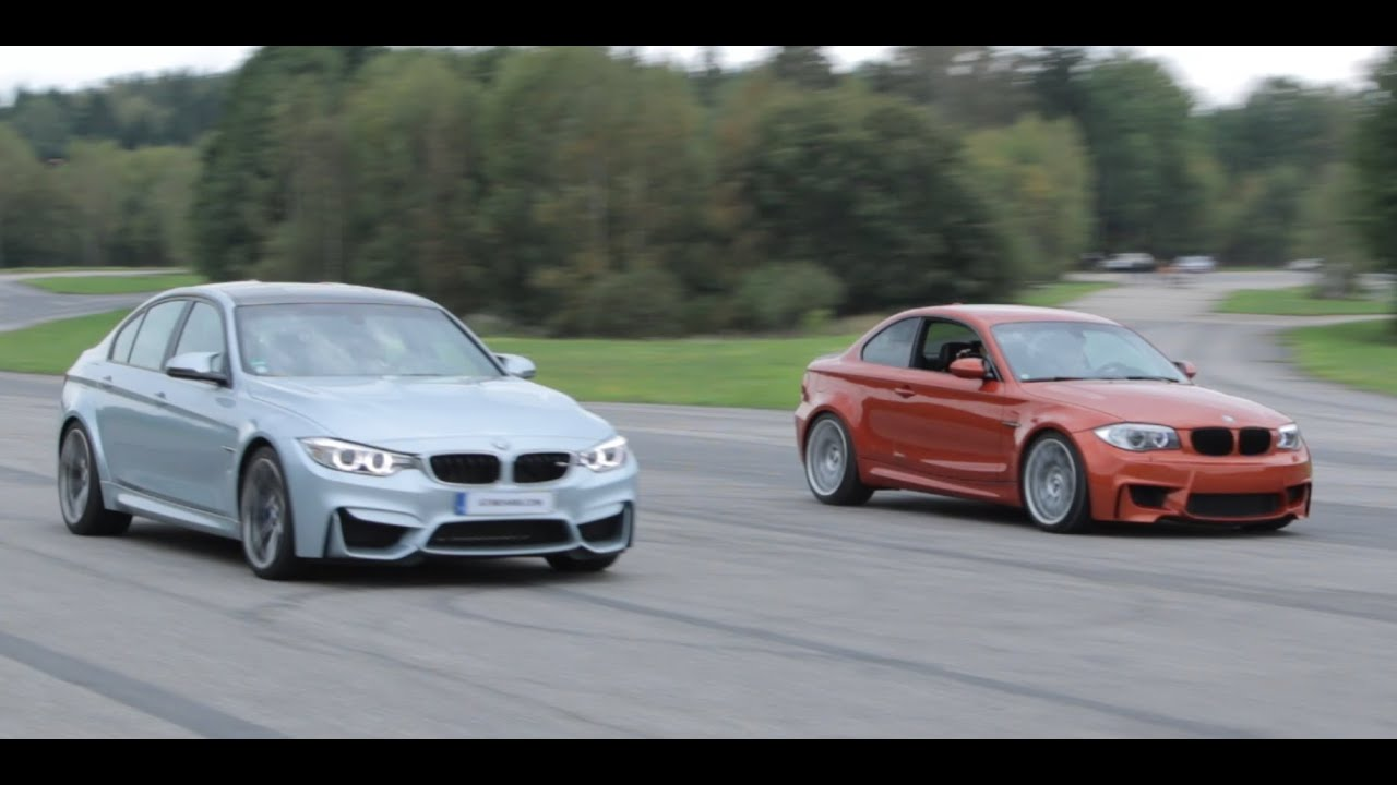 Bmw M3 F80 Vs Bmw 1m Coupe Ecu Downpipe Intercooler And