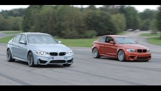 BMW M3 F80 vs BMW 1M Coupe (ECU, Downpipe, Intercooler and CAI)
