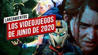 Los Videojuegos de Junio