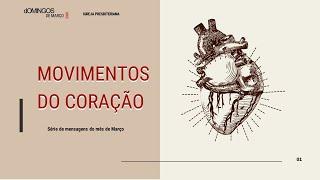 DA ANSIEDADE AO CUIDADO | Série Movimentos do Coração | Romanos 8.32