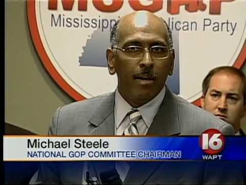 WAPT reports on Neshoba County Democrat switching to MSGOP, visit by RNC Chairman Michael Steele