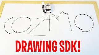 Cozmo - DRAWING SDK - writing letters and even his name! Anki