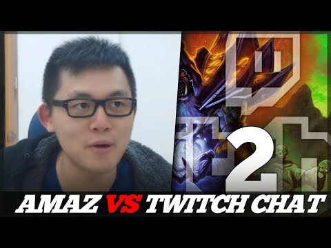 AMAZ VS TWITCH CHAT! (Chat's Run)