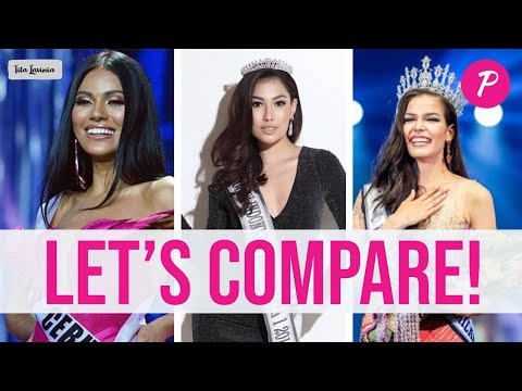 The SOUTHEAST ASIAN Beauty Queens and Their CHANCES at the Miss Universe 2019