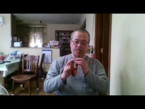 Crumhorn:  Soprano crunhrn by Eric Moulder. Music by T. Susato.