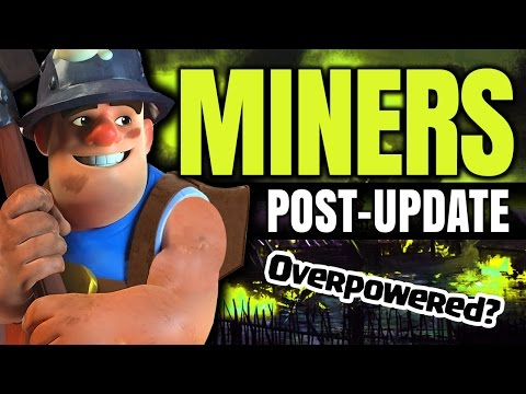 CLASH OF CLANS UPDATE: MINERS OP AGAIN?