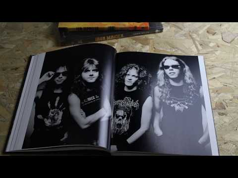 หนังสือภาพถ่าย วง metallica