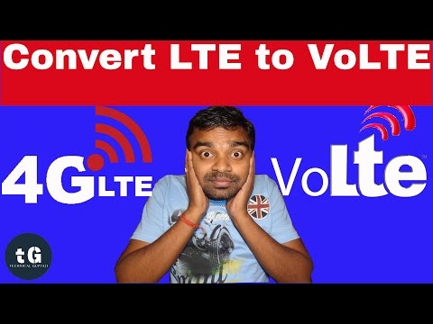 How to Convert LTE to VoLTE | LTE to VoLTE Converter | Technical Guptaji