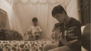 Đêm nằm mơ phố (guitar + sáo)