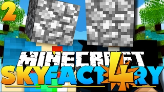 Minecraft: SkyFactory 4 -#SAVETHECOBBLE [2]
