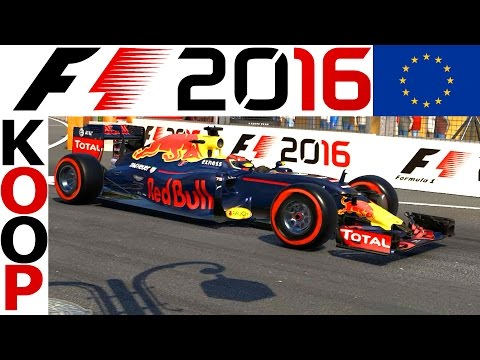 F1 2016 KOOP Saison 2 #8 – Europa GP – Lets Play Formel 1 2016 Gameplay German | CSW