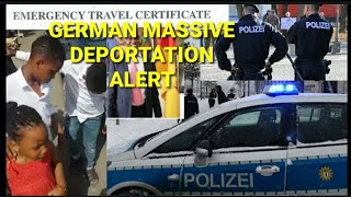 MASSIVE POLICE DEPORTATION ALERT. GERMAN IMMIGRATION FIGHT BACK AGAINST ALL NIGERIA BECAUSE OF THE . thumbnail