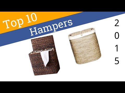 10 Best Laundry Hampers 2015