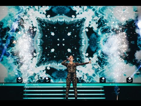 Hanna Ferm sjunger Treading water i Idol 2017 - Idol Sverige (TV4)