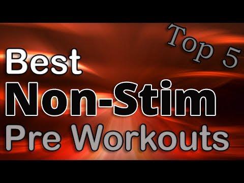 Top 5: Best Non Stim Pre Workout Supplements | 2018 (Caffeine Free)