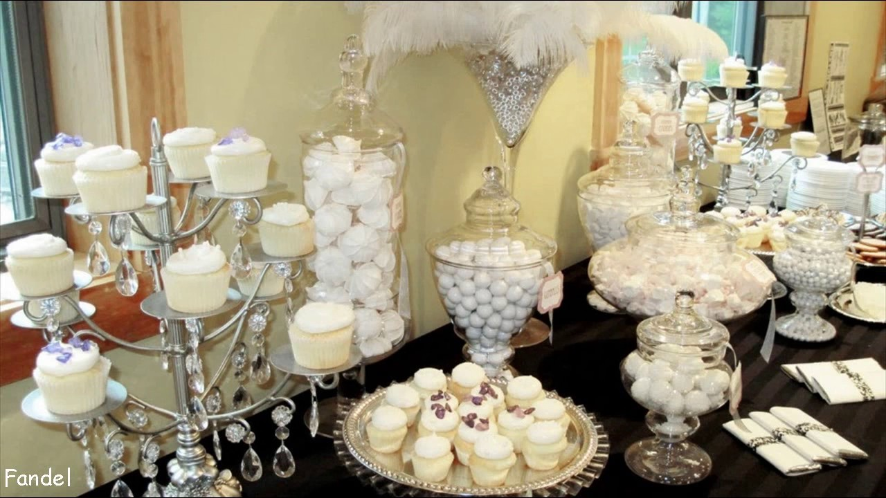 Diy Wedding Candy Table Ideas