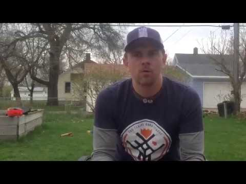 How To Play Kubb: Baton Throwing Practice Tip #1 - Reduce Your Rotation - YouTube