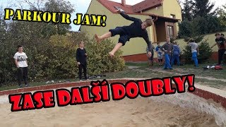 PARKOUR JAM - DOUBLE BACKFLIP A DOUBLE SIDEFLIP! | FASTÍK