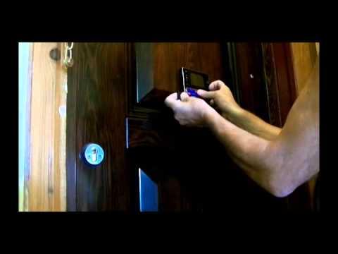 Видеоглазок для входной двери с Алиэкспресс. Установка и первые впечатления.