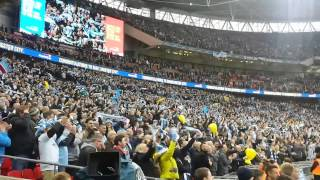 Manchester City v Sunderland League Cup Final 2014 - Trophy Award Ceremony