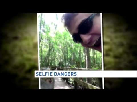 Selfie dangers with wildlife