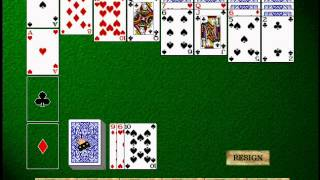 Hoyle 5 (1/10): Intro, credits and Solitaire