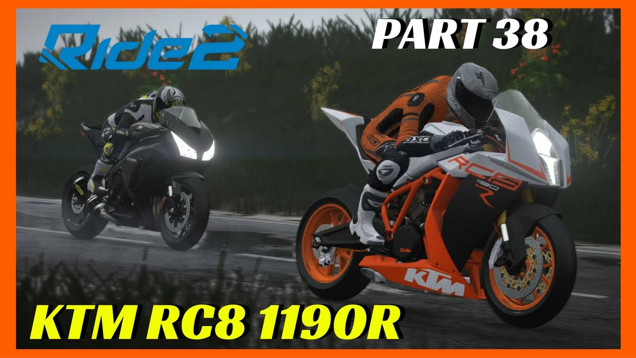 ride 2 ps4 gameplay part 38 ktm rc8 1190r ride2. Black Bedroom Furniture Sets. Home Design Ideas