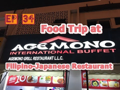 DuBlog Episode 34: Agemono: Filipino-Japanese Restaurant In Dubai
