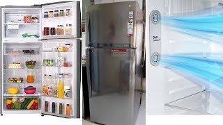 Best double door refrigerator In 2019,LG Refrigerator Inverter Linear Compressor Technolog.