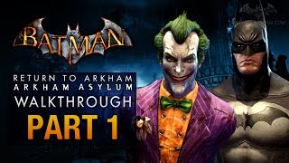 Batman: Return to Arkham Asylum Walkthrough - Part 1 - Intro