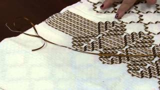 Almofada de vagonite com fita de cetim – Maria Sirlei Leal P2