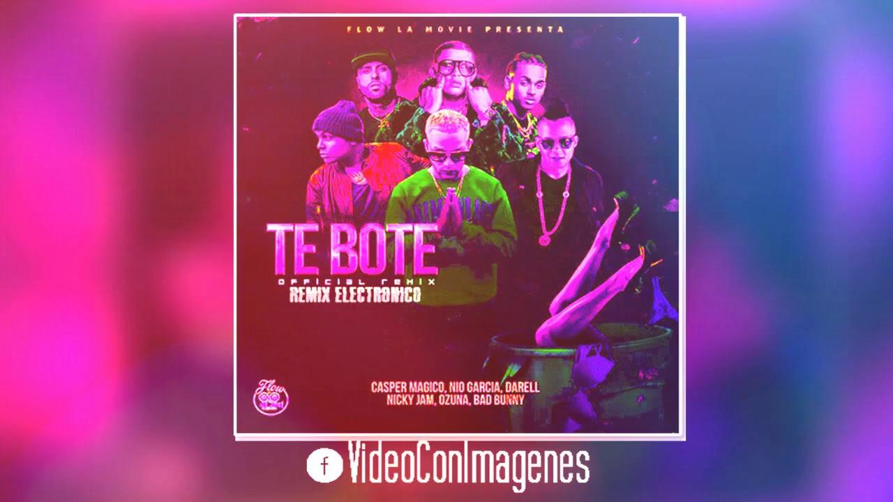 Te Boté - Moombahton Remix | Casper Magico, DJ Willie #1