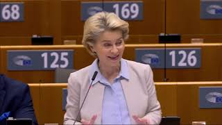 President von der Leyen on the  European Council meeting of December 2020