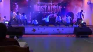 dance performance at nostalgia 15 the lnmiit jaipur