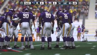 DSFL 3 Championship Game: 2007 Patriots vs. 1998 Vikings [Part 1 of 4]