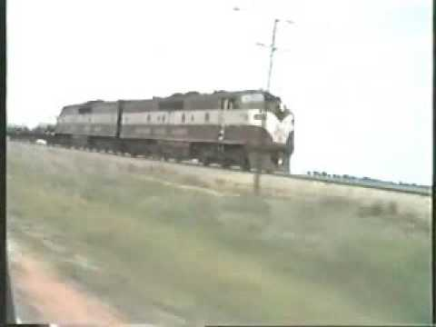 Chasing The Trans Australia passenger train Early 1980's