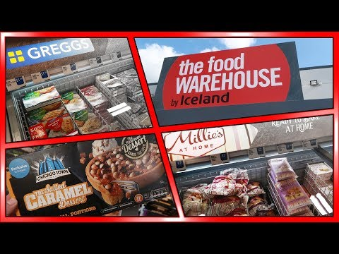 Iceland - The Food Warehouse Shopping VLOG