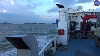 Đi phà khổng lồ về Hà Tiên/big ship