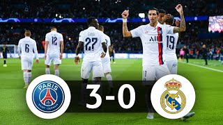 🇫🇷 Comment le PSG a coulé le Real Madrid (3-0)