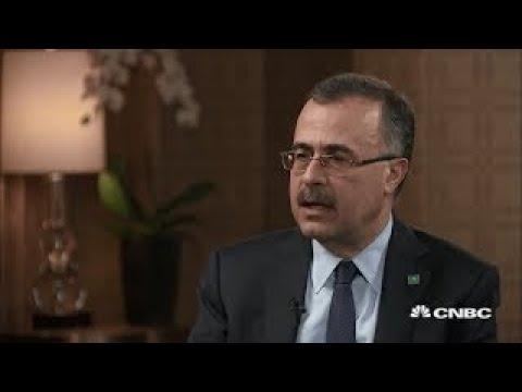 Saudi Aramco CEO Amin Nasser interview