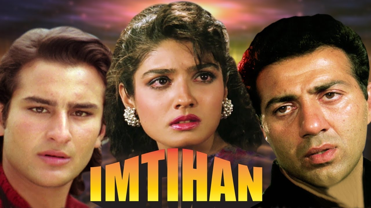 Download Imtihan Full Movie   Sunny Deol Hindi Action Movie   Saif Ali Khan   Raveena Tandon  Bollywood Movie