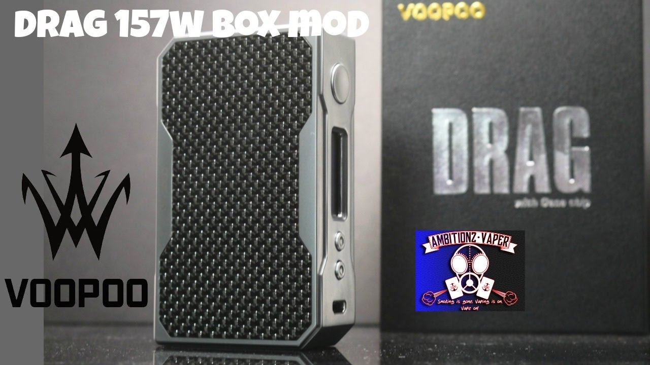 Voopoo {Drag 157w TC Box Mod} Review | Hows The Menu System?