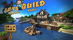 Mittelalterlicher Hafen | Part 1 | Minecraft Tutorial | German