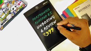 Portronics POR 628 Portable Ruff Pad E-Writer 🔥 - Unboxing & Review .